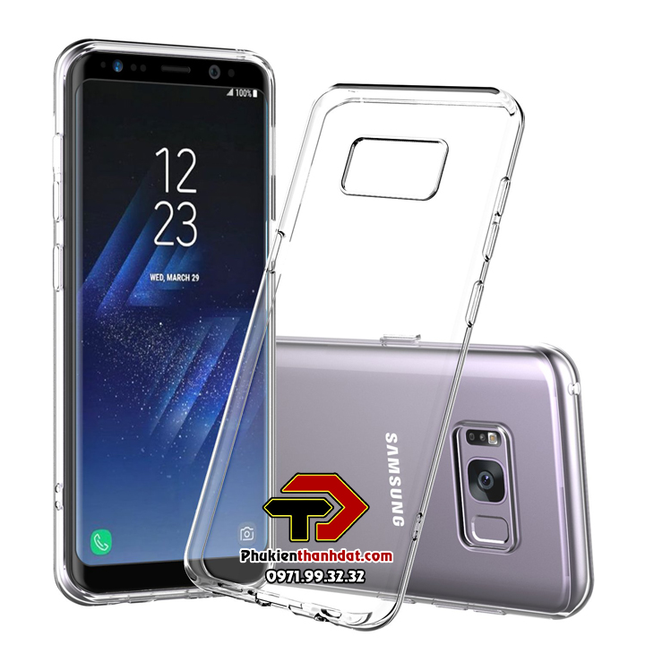 Ốp lưng silicone dẻo trong suốt SamSung Galaxy S8