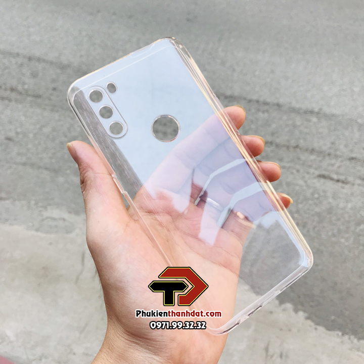 Ốp lưng Vsmart Active 3 silicone dẻo trong suốt