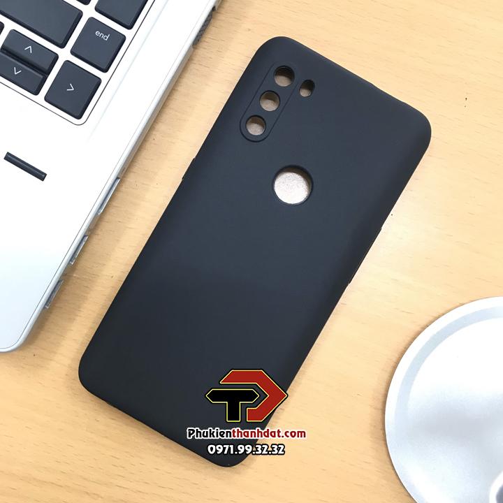 Ốp lưng Vsmart Active 3 silicone dẻo màu đen bảo vệ camera