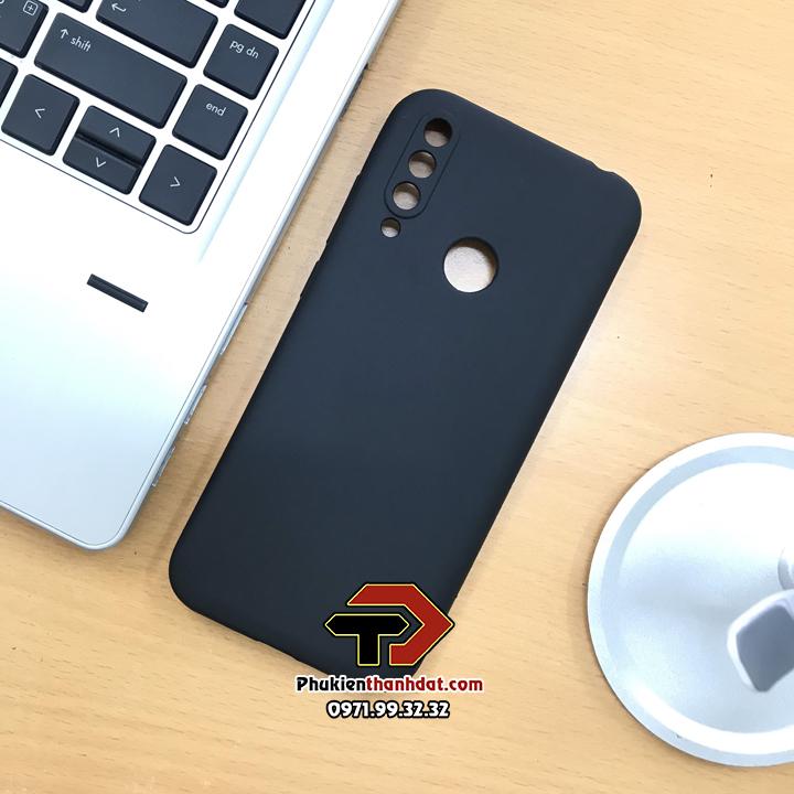 Ốp lưng Vsmart Joy 3 silicone dẻo màu đen bảo vệ camera