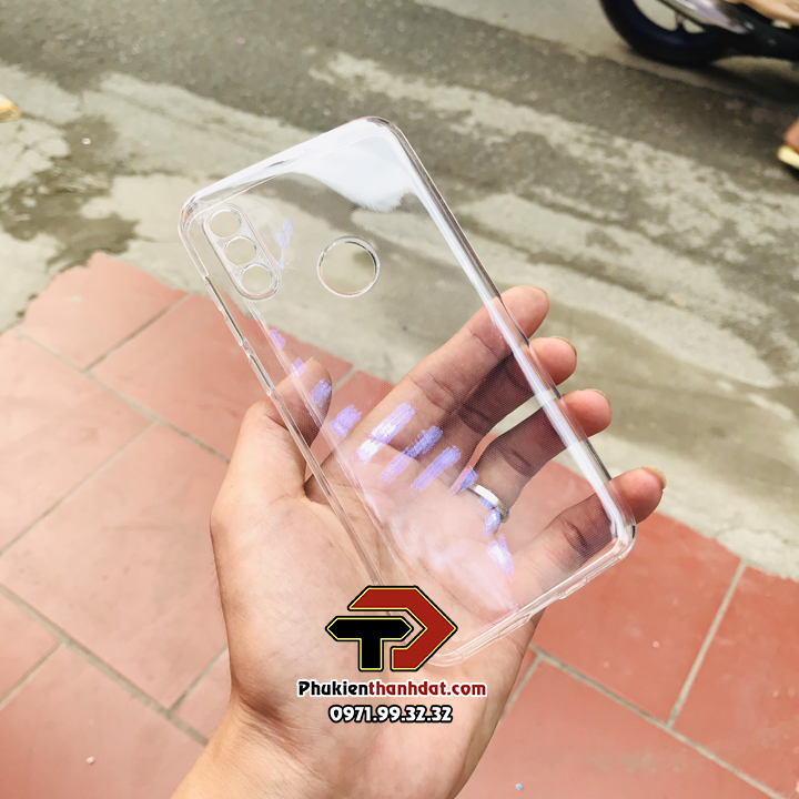 Ốp lưng Vsmart Star 4 silicone dẻo trong suốt