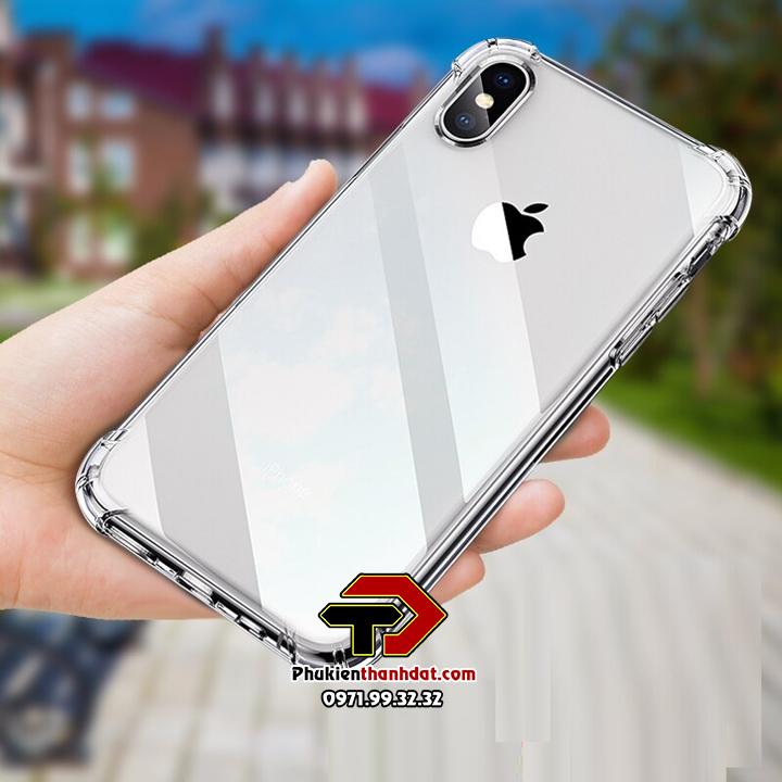 Ốp lưng dẻo trong chống sốciPhone X