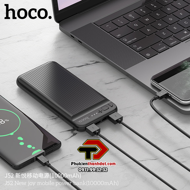 Pin, Sạc dự phòng chính hãng HOCO J52 10000mAh