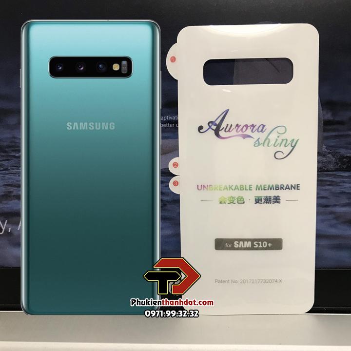 Tấm dán PPF mặt lưng SamSung Galaxy S10 Plus trong suốt