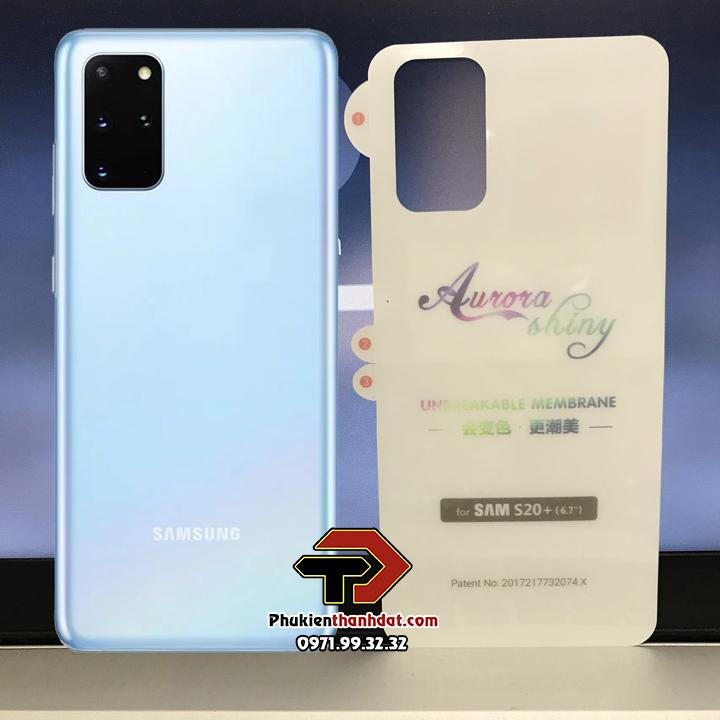 Tấm dán PPF mặt lưng SamSung Galaxy S20 Plus trong suốt