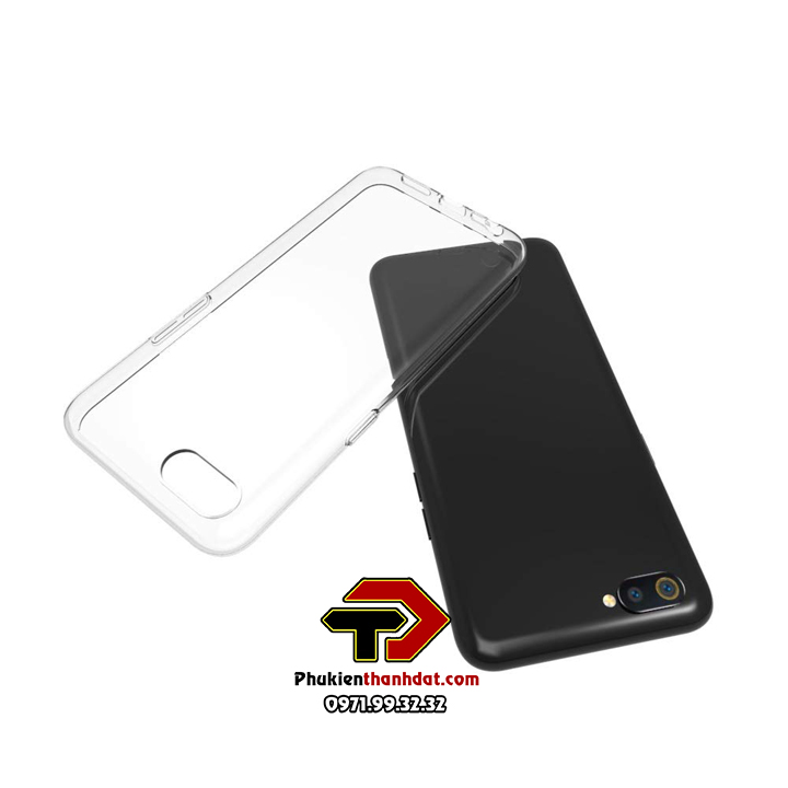 Ốp lưng OPPO A1K silicone dẻo trong suốt
