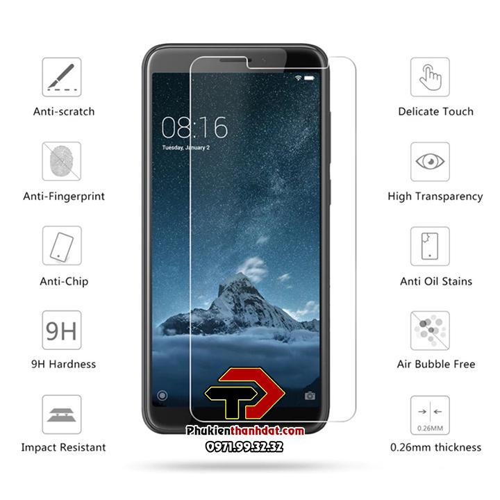 Tấm dán kính cường lực HTC U11 hiệu Glass Pro