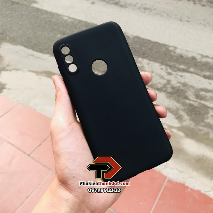 Ốp lưng Vsmart Star 4 silicone dẻo màu đen