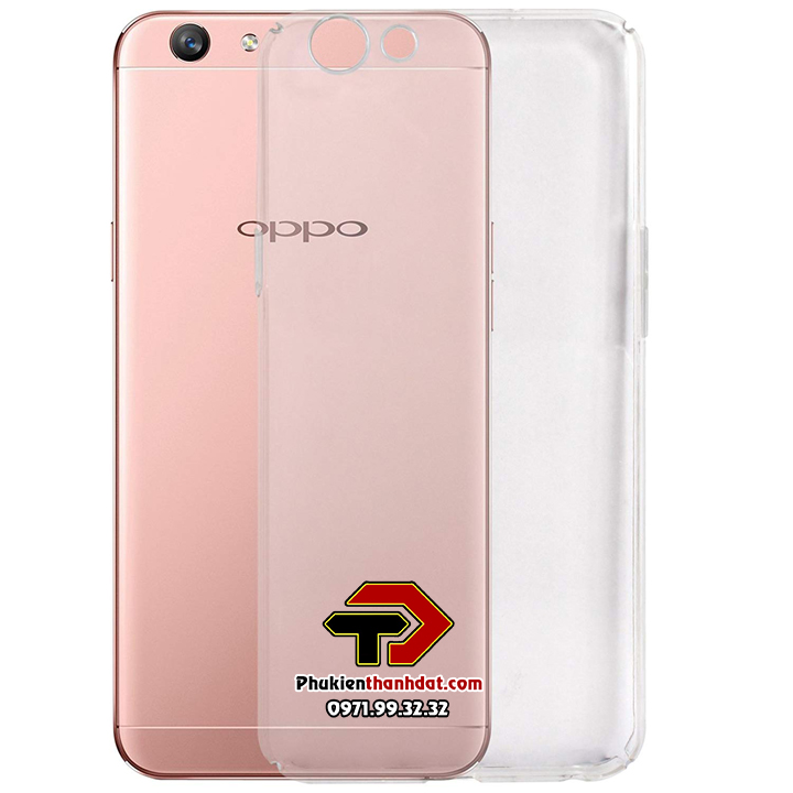Ốp lưng OPPO F1S A59 silicone dẻo trong suốt