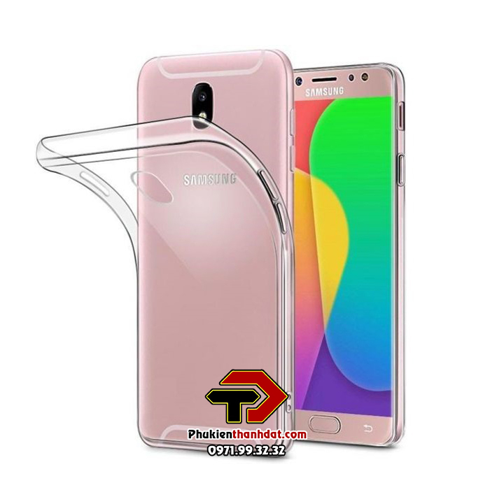 Ốp lưng silicone dẻo trong suốt SamSung Galaxy J7 Pro