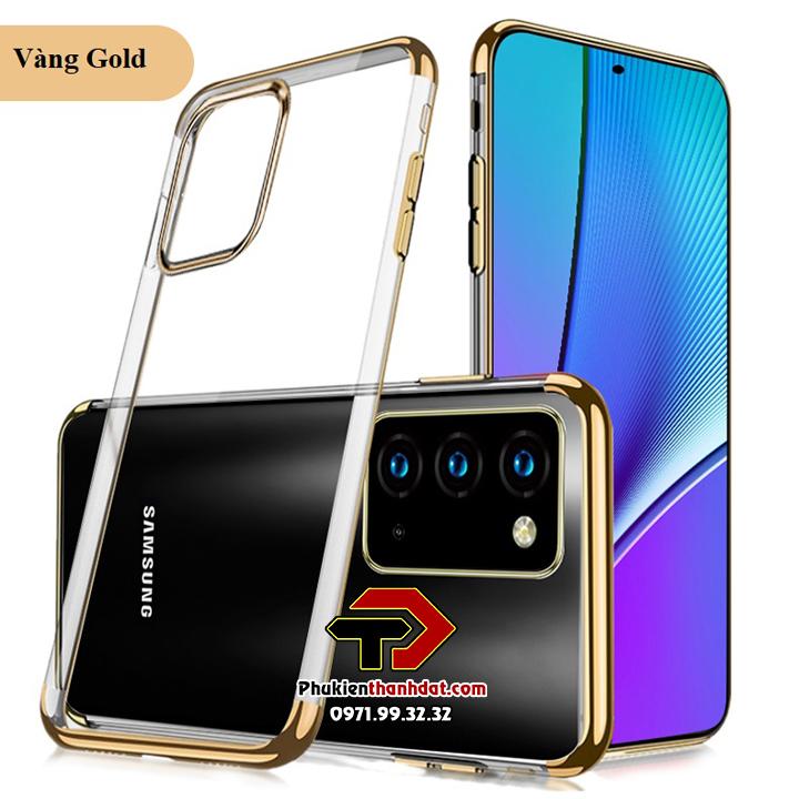 Ốp lưng silicon trong suốt viền màu SamSung Galaxy Note 20 chính hãng SULADA
