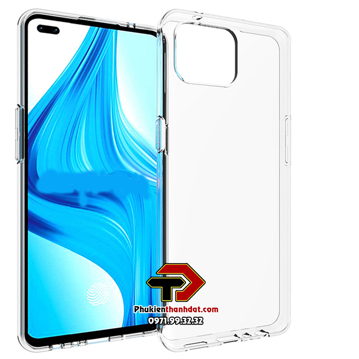 Ốp lưng OPPO A93 silicone dẻo trong suốt