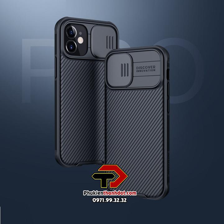 Ốp lưng bảo vệ Camera iPhone 12 Mini chính hãng NILLKIN CamShield
