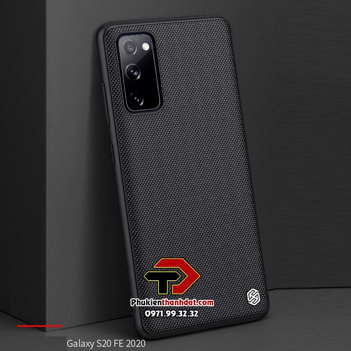 Ốp lưng SamSung Galaxy S20 FE chính hãng Nillkin Textured Case