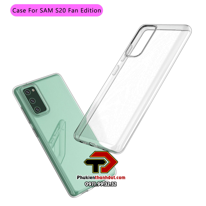 Ốp lưng SamSung Galaxy S20 FE silicone dẻo trong suốt