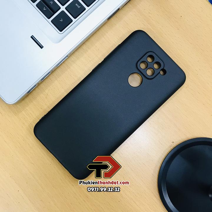 Ốp lưng bảo vệ camera Xiaomi Redmi Note 9 silicon dẻo chính hãng X-LEVEL Guardian