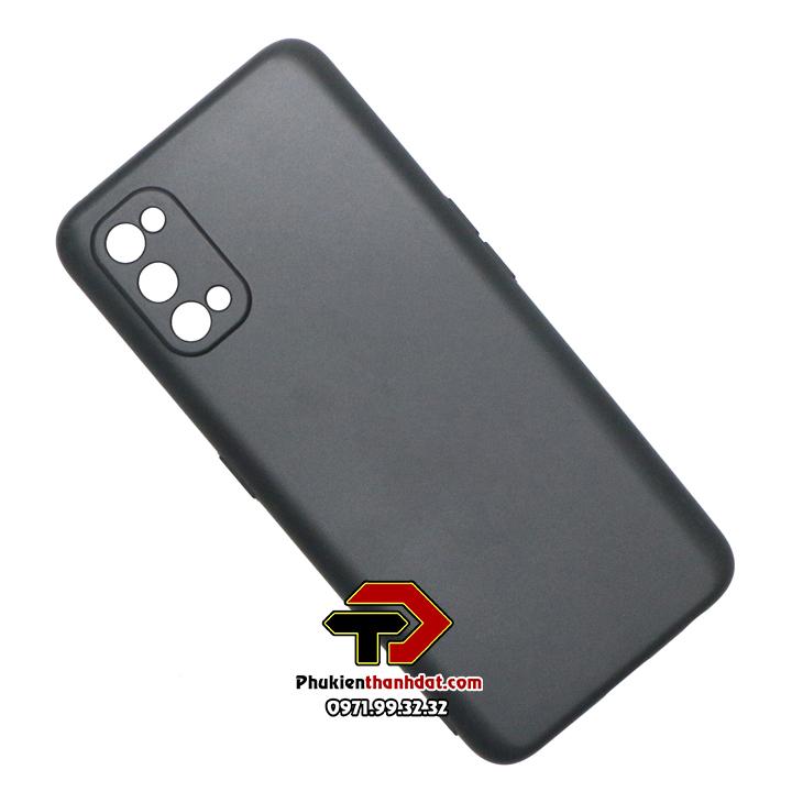 Ốp lưng Realme 7 Pro silicone dẻo màu đen
