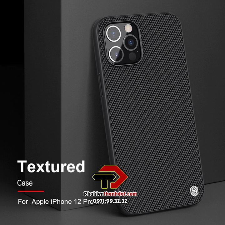Ốp lưng iPhone 12 Pro chính hãng Nillkin Textured Case
