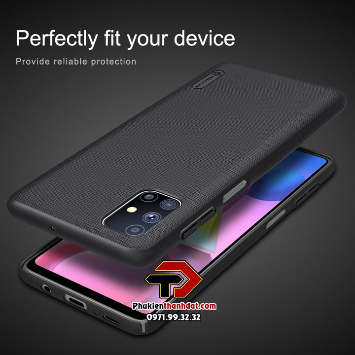 Ốp lưng SamSung Galaxy M51 chính hãng Nillkin dạng sần