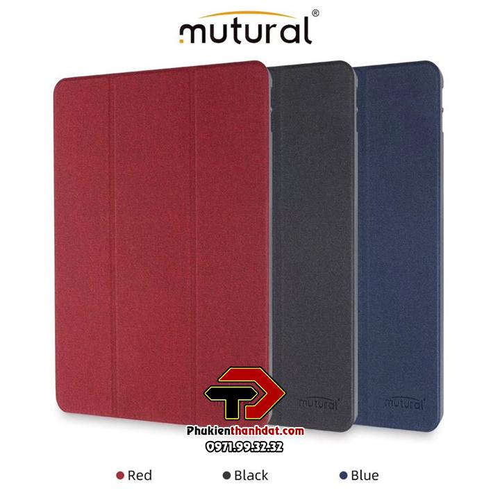 Bao da iPad Air 4 2020 chính hãng Mutural có ngăn để bút