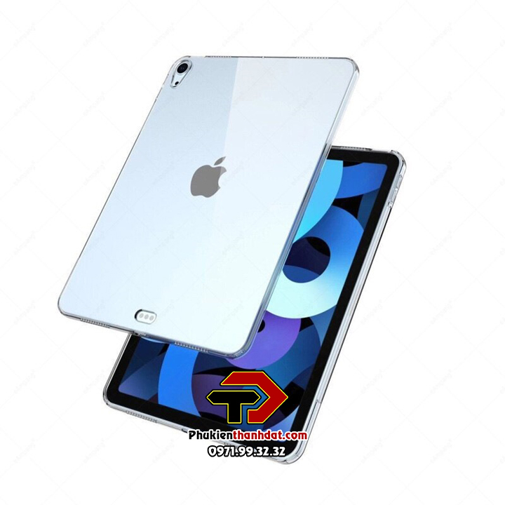 Ốp lưng iPad Air 4 2020 silicone dẻo trong suốt