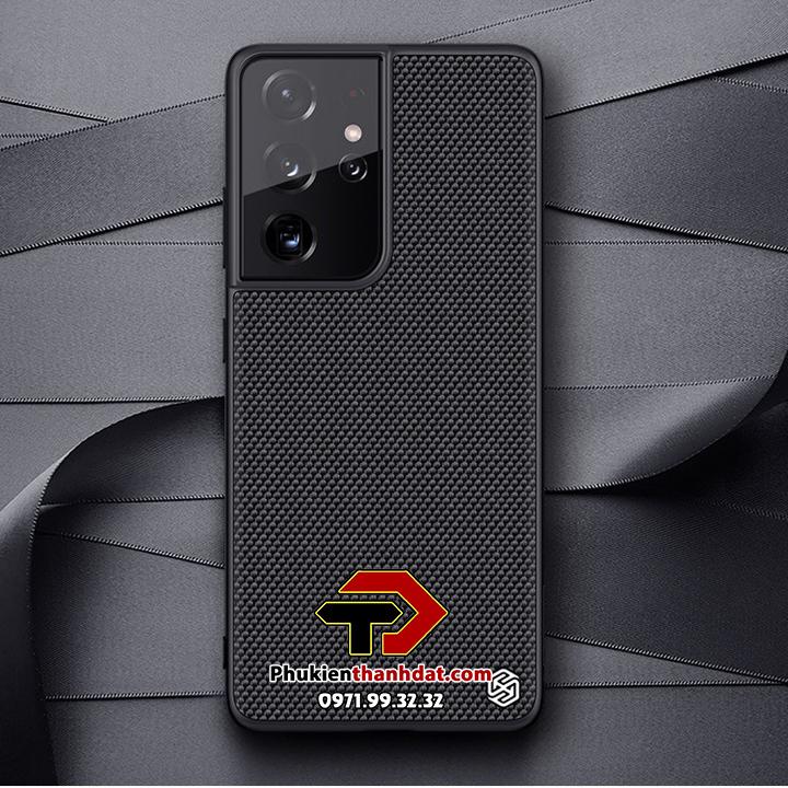 Ốp lưng SamSung Galaxy S21 Ultra chính hãng Nillkin Textured Case