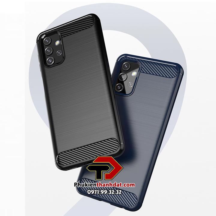 Ốp lưng chống sốc RUGGED ARMOR SamSung Galaxy A32 5G vân sợi Carbon
