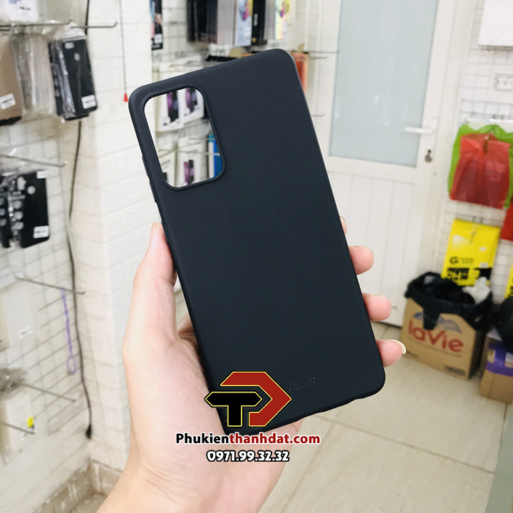 Ốp lưng silicon màu SamSung Galaxy A72 chính hãng Ou Case