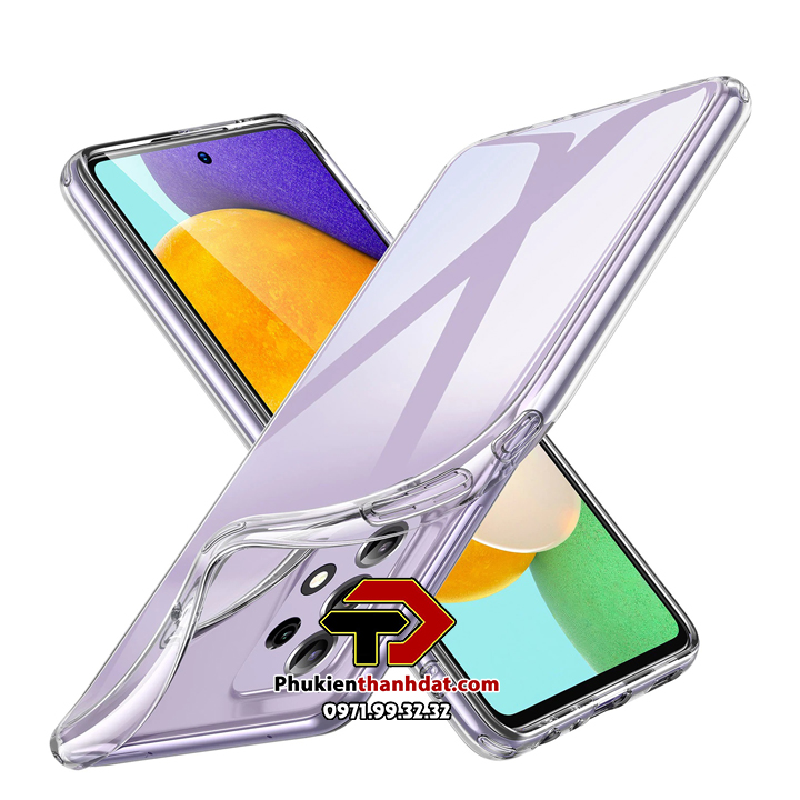 Ốp lưng SamSung Galaxy A52 silicone dẻo trong suốt