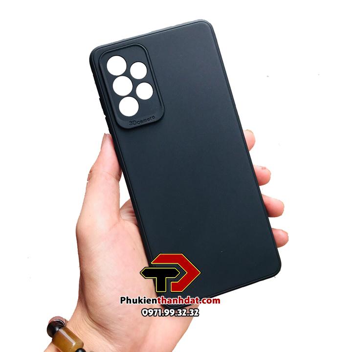 Ốp lưng 3D Camera SamSung Galaxy A72 silicone dẻo bảo vệ camera sau