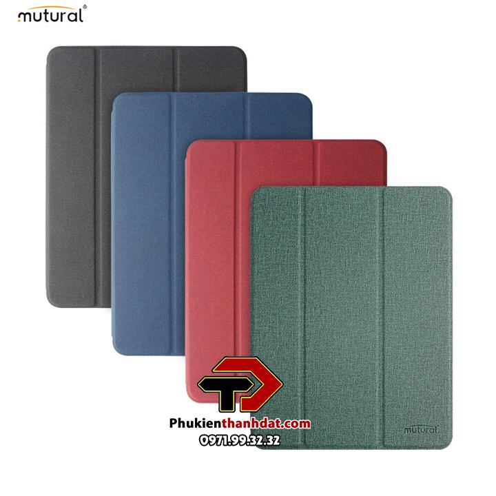 Bao da iPad Pro 11 2021 M1 chính hãng Mutural có ngăn để bút