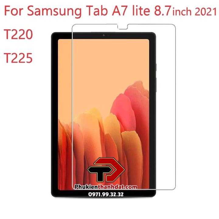 Tấm dán kính cường lực SamSung Galaxy Tab A7 Lite T225 hiệu Glass Pro