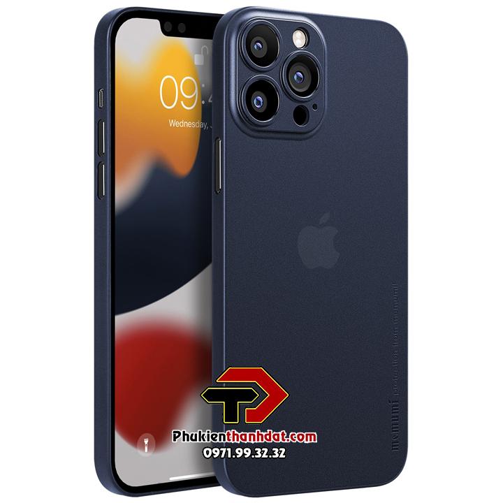 Ốp lưng lụa iPhone 13 Pro chính hãng Memumi siêu mỏng