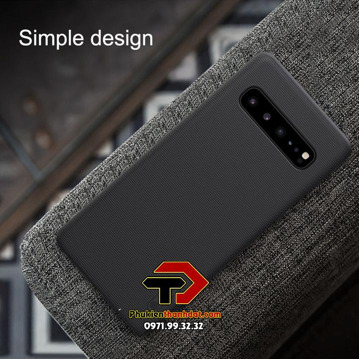 Ốp lưng SamSung Galaxy S10 5G chính hãng Nillkin dạng sần