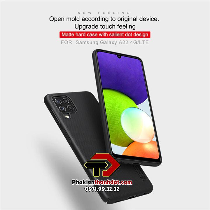 Ốp lưng SamSung Galaxy A22 4G chính hãng Nillkin dạng sần